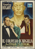 "Movie Posters:Drama, The Harder They Fall (Columbia, 1958). Italian 2 - Folio (39"" X55"") First Italian Release. Drama...."