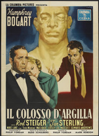 "The Harder They Fall (Columbia, 1958). Italian 2 - Folio (39"" X 55"") First Italian Release. Drama"