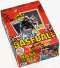 Baseball Cards:Unopened Packs/Display Boxes, 1982 Fleer Baseball Wax Box With 36 Unopened Packs - Ripen Jr.Rookie Year. ...