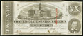 Confederate Notes:1863 Issues, T58 $20 1863 PF-30 Cr. UNL Fine-Very Fine.. ...