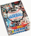 Baseball Cards:Unopened Packs/Display Boxes, 1981 Topps Baseball Wax Box With 36 Unopened Packs. ...