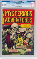Golden Age (1938-1955):Horror, Mysterious Adventures #6 (Story Comics, 1952) CGC VF 8.0 Off-white pages....