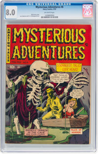 Mysterious Adventures #6 (Story Comics, 1952) CGC VF 8.0 Off-white pages