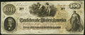 Confederate Notes:1862 Issues, T41 $100 1862 PF-12 Cr. 317A Very Fine-Extremely Fine.. ...