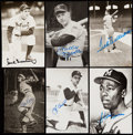 Autographs:Post Cards, Baseball Hall of Fame Signed Vintage Postcard Lot of 72. ... (Total: 72 items)