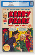 Golden Age (1938-1955):Crime, Kerry Drake Detective Cases #11 (Super Publications, 1948) CGC VF/NM 9.0 Cream to off-white pages....