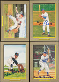 "Autographs:Others, Signed 1990's Perez- Steele ""Great Moments"" Signed Group (4). ...(Total: 4 items)"