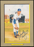 "Autographs:Sports Cards, Signed 1987 Perez-Steele ""Great Moments"" Sandy Koufax Card...."
