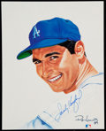 "Autographs:Others, Signed Ron Lewis ""Living Legends"" Sandy Koufax. ..."