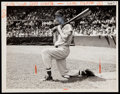 Baseball Collectibles:Photos, 1946 Ted Williams Boston Red Sox Original Photograph - Williams' Only Pennant Season & First MVP....