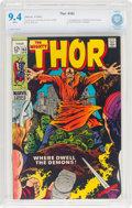 Thor #163 (Marvel, 1969) CBCS NM 9.4 White pages