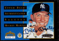 Autographs:Sports Cards, 1994 Mickey Mantle Signed Limited Edition Commemorative Card, UDA....