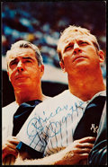 Autographs:Post Cards, c. 1970 Mickey Mantle Signed Postcard....
