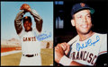 Autographs:Photos, San Francisco Giants Signed Photograph Lot of 2. ... (Total: 2 items)