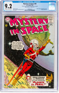 Silver Age (1956-1969):Science Fiction, Mystery in Space #90 (DC, 1964) CGC NM- 9.2 Off-white to whitepages....