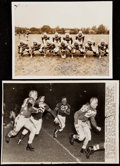 Football Collectibles:Publications, 1941-42 Chicago Bears vs. College All-Stars Collection of 4 Items....