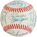 Autographs:Baseballs, 1969 New York Mets Team Signed (Reunion) Baseball (26 Signatures) - PSA/DNA NM+ 8.5....