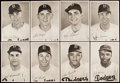 Baseball Collectibles:Photos, 1940s Brooklyn Dodgers Picture Pack Complete Set (25) with OriginalEnvelope....