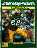 Football Collectibles:Publications, 1994 Green Bay Packers Multi-Signed Yearbook....