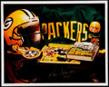 Autographs:Photos, Ray Nitschke Signed Green Bay Packers Photograph....