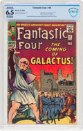 Silver Age (1956-1969):Superhero, Fantastic Four #48 (Marvel, 1966) CBCS Restored (Slight Professional) FN+ 6.5 Off-white pages....