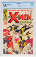 Silver Age (1956-1969):Superhero, X-Men #1 (Marvel, 1963) CBCS VG+ 4.5 Off-white to white pages....