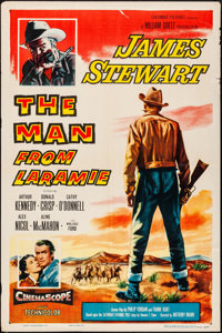 """The Man from Laramie (Columbia, 1955). One Sheet (27"""" X 41""""). Western"""