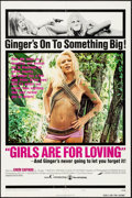 """Movie Posters:Sexploitation, Girls are for Loving (Continental, 1973). One Sheet (27"""" X 41"""")Style A. Sexploitation.. ..."""