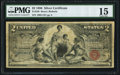 Large Size:Silver Certificates, Fr. 248 $2 1896 Silver Certificate PMG Choice Fine 15.. ...