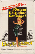 """Movie Posters:Foreign, Come Dance with Me! (Columbia, 1960). Spanish Language One Sheet (27"""" X 41""""). Foreign.. ..."""