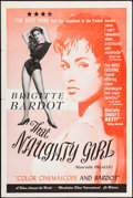 """Movie Posters:Foreign, Mam'zelle Pigalle (Films Around the World, 1958). First US Release One Sheet (27"""" X 41"""") Alternate Title: That Naughty Gir..."""