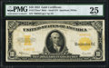 Large Size:Gold Certificates, Fr. 1173a* $10 1922 Mule Gold Certificate PMG Very Fine 25.. ...