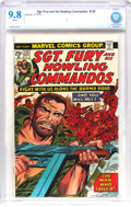 Bronze Age (1970-1979):War, Sgt. Fury and His Howling Commandos #125 (Marvel, 1975) CBCS NM/MT 9.8 White pages....