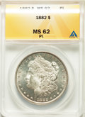 1882 $1 MS62 Prooflike ANACS. NGC Census: (46/214). PCGS Population: (73/309). ...(PCGS# 7133)