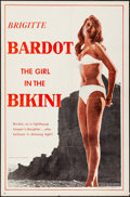 """Movie Posters:Foreign, The Girl in the Bikini (Atlantis Films, 1958). First U.S. Release One Sheet (27"""" X 41""""). Foreign.. ..."""