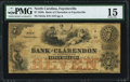 Fayetteville, NC- Bank of Clarendon at Fayetteville $7 Aug. 1, 1855 G5a PMG Choice Fine 15