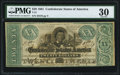 Confederate Notes:1861 Issues, T21 $20 1861 PF-6 Cr. 146 PMG Very Fine 30.. ...