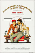 "Movie Posters:Crime, The Sting (Universal, 1973). Folded, Very Fine+. One Sheet (27"" X41""). Richard Amsel Artwork. Crime.. ..."