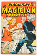 Golden Age (1938-1955):Miscellaneous, Blackstone, the Magician #4 (Timely, 1948) Condition: FN/VF....