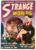 Golden Age (1938-1955):Science Fiction, Strange Worlds #2 (Avon, 1951) Condition: FN+....