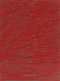 Works on Paper, Sol LeWitt (1928-2007). Tangled Bands, 2002. Gouache on paper. 29-1/2 x 22-1/2 inches (74.9 x 57.2 cm). Signed and dated...