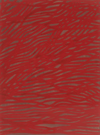 Sol LeWitt (1928-2007) Tangled Bands, 2002 Gouache on paper 29-1/2 x 22-1/2 inches (74.9 x 57.2 c