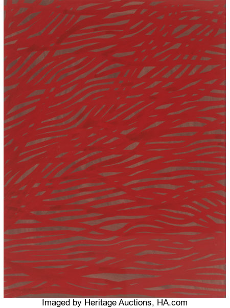 Sol LeWitt (1928-2007)Tangled Bands, 2002Gouache on paper29-1/2 x 22-1/2 inches (74.9 x 57.2 cm)Signed and dated...