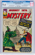 Silver Age (1956-1969):Superhero, Journey Into Mystery #96 Don/Maggie Thompson Collection Pedigree(Marvel, 1963) CGC NM+ 9.6 Off-white to white pages....