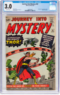 Silver Age (1956-1969):Superhero, Journey Into Mystery #83 (Marvel, 1962) CGC GD/VG 3.0 Off-whitepages....