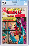 Silver Age (1956-1969):Horror, Ghostly Tales #69 (Charlton, 1968) CGC NM 9.4 White pages....