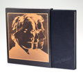 Fine Art - Work on Paper:Print, After Andy Warhol . Andy Warhol: Portrait's of the 70's,1979. Hardcover book. 9-3/8 x 8-5/8 inches (23.8 x 21.9 cm) (bo...