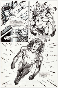 Barry Windsor-Smith Rune #5 Story Page 5 Enhanced Original Art (Malibu, 1994/2000s)