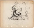 Animation Art:Production Drawing, Pluto Walking Sequence Animation Drawing Group of 9 (Walt Disney,c. 1930s).... (Total: 9 Items)