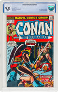 Bronze Age (1970-1979):Superhero, Conan the Barbarian #23 (Marvel, 1973) CBCS VF/NM 9.0 Whit...